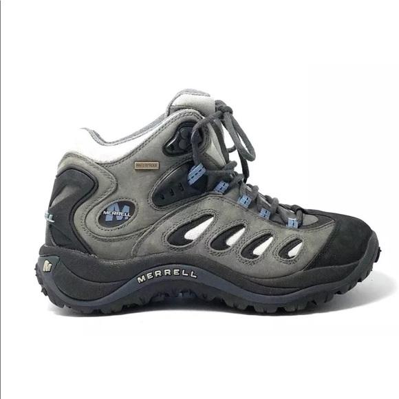 e8cc4c73d2b Merrell REFLEX Waterproof Mid Trail Hiking Boots